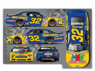 Otter Pops Returns to the World of Racing To Sponsor Jeffrey Earnhardt's Car at the Bojangles&#3