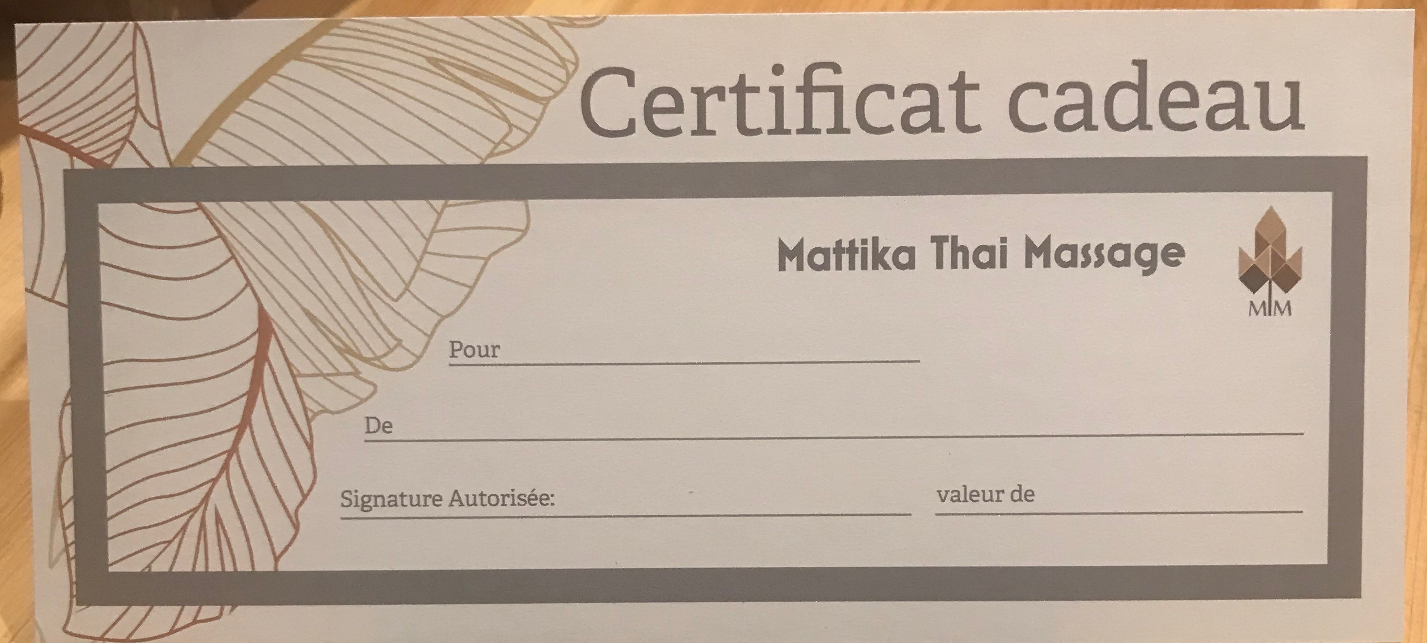 90 Minutes Gift Certificate