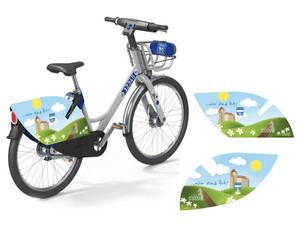 Ma. Enzersdorf e-bike Werbung