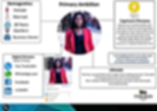 Primary Ambition Persona Infographic (ne
