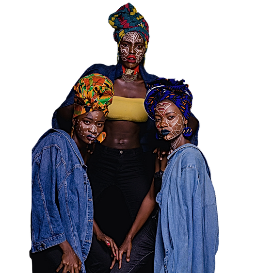 3 african women transparent.png