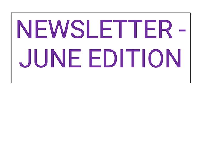 Newsletter June Edition