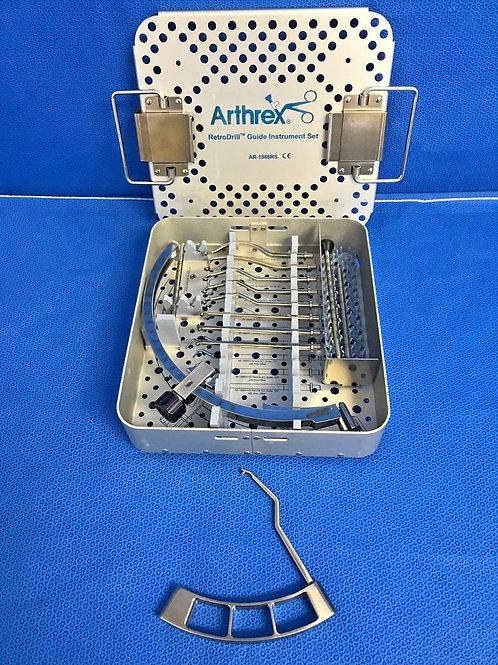 Arthrex AR-1866RS Retro Drill Guide Instrument Set, Arthroscopic