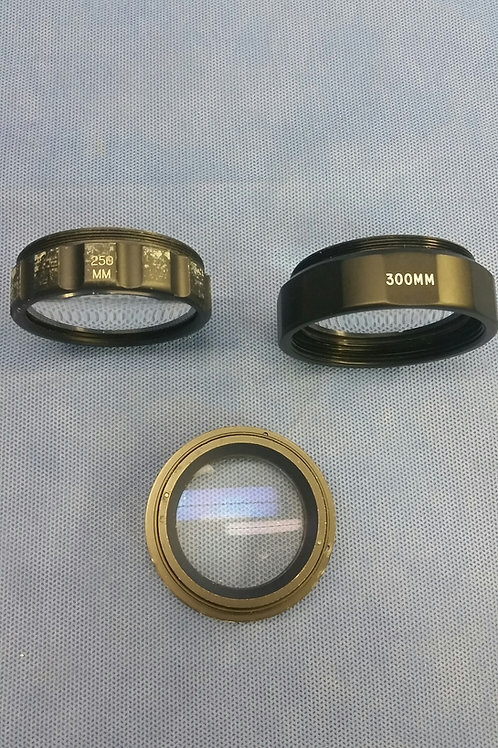 Lot of 3 Lens Adapters, Zeiss, 300mm, 250mm & Unmarked