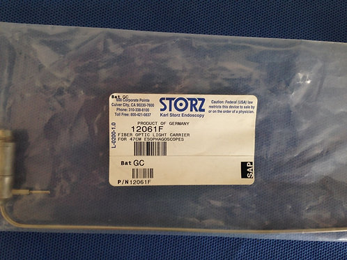 Storz, 12061F, Fiber Optic Light Carrier for 47 cm. Esophagoscopes
