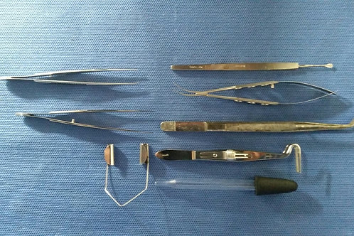 Katena/Storz/Weck 8 Piece Ophthalmic Micro Instrument Set