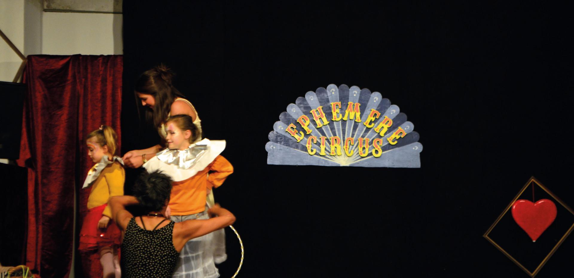 Spectacle Ephémère Circus par la Cie A Tire d'Elle