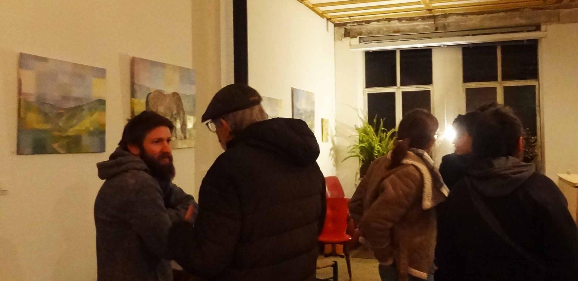 """Vernissage de l'exposition """"Vues"""" de Lucie Ventadour"""