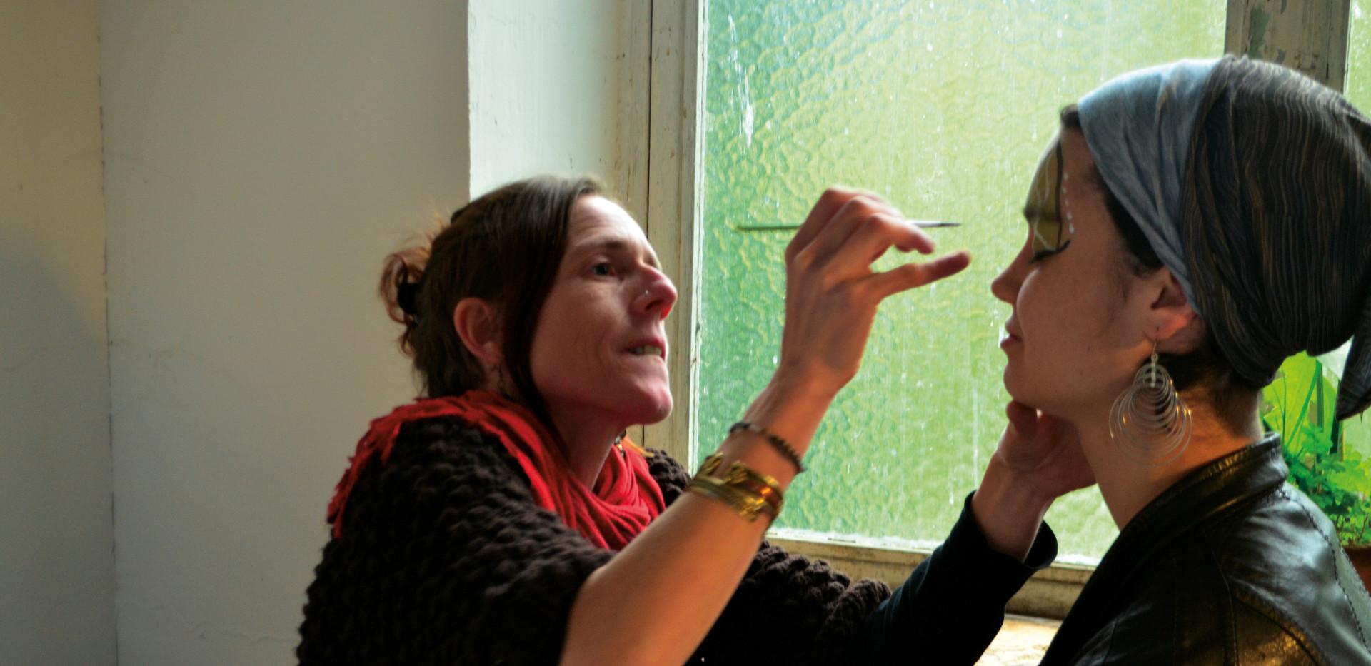 Atelier maquillage avec Isabelle