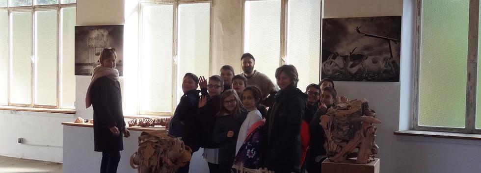 Visite de l'école Saint-Joseph de Saint-Martin
