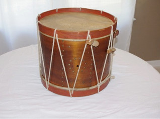 Original Civil War Side Drum Dated 1862