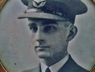 Gold Memorial Locket to Battle of Britain Pilot Officer LC Murch