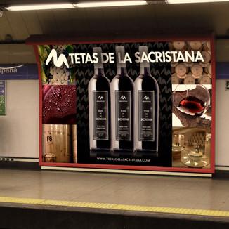 Vinos Tetas de la Sacristana - Bodegas Selección de Vinos de Fondón