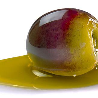Aceite de oliva vírgen extra arbequina.