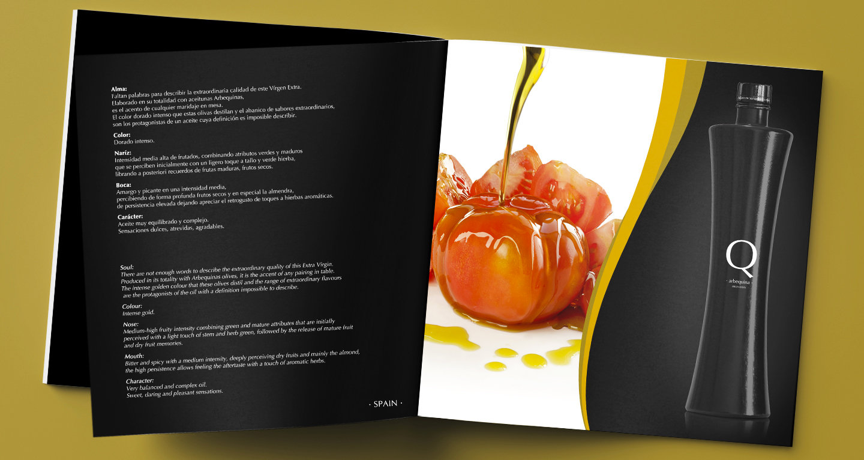 Aceite de Oliva Virgen Extra Q, Capellanias del sur, Sorbas, Almeria, Agencia de Publicidad Lounge Creative, Aguadulce, Espana