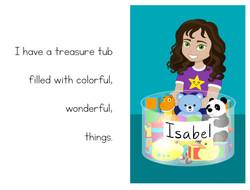 ISABEL'S TREASURE TUB