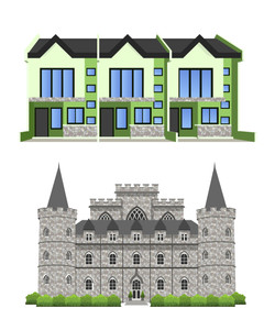 TOWNHOUSE AND CASTLE