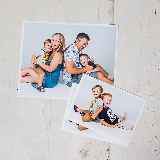 Family Photo Shoot + Prints