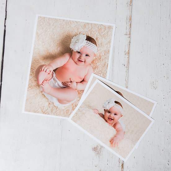 Baby Photo Shoot + Prints