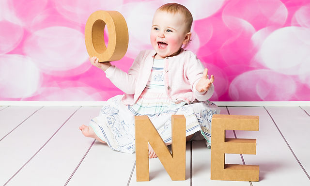 first birthday photo shoot, Natalie Jayne Photography