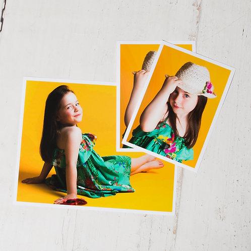 Child Photo Shoot + Three Prints