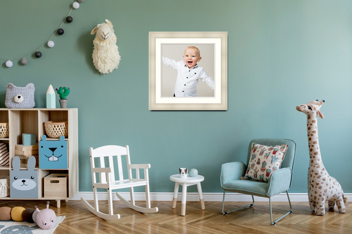 Sample Image displayed in Nursery