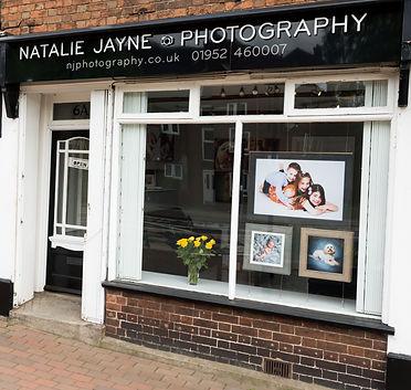 Natalie Jayne Photography Studio, Shifnal, Shropshire, near Telford