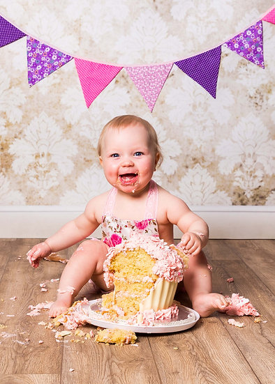 1st or 2nd Birthday Cake Smash Session