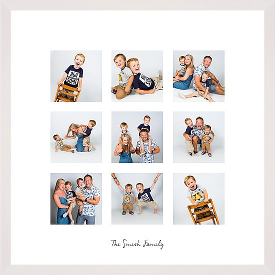 "Family Moments 20x20"" Frame + Photo Shoot"
