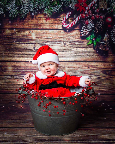 Christmas Themed Photo Shoot