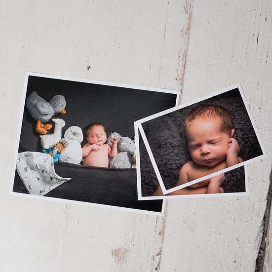 Newborn Photo Shoot + Prints