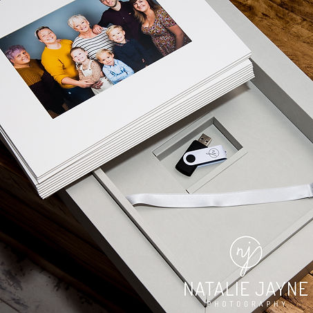 Natalie Jayne Photography, Display products