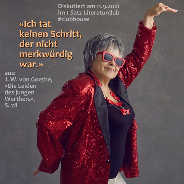 1-Satz-Literaturclub 1SLC Lakritza Judith Niederberger Johann Wolfgang von Goethe Die Leiden des jungen Werthers