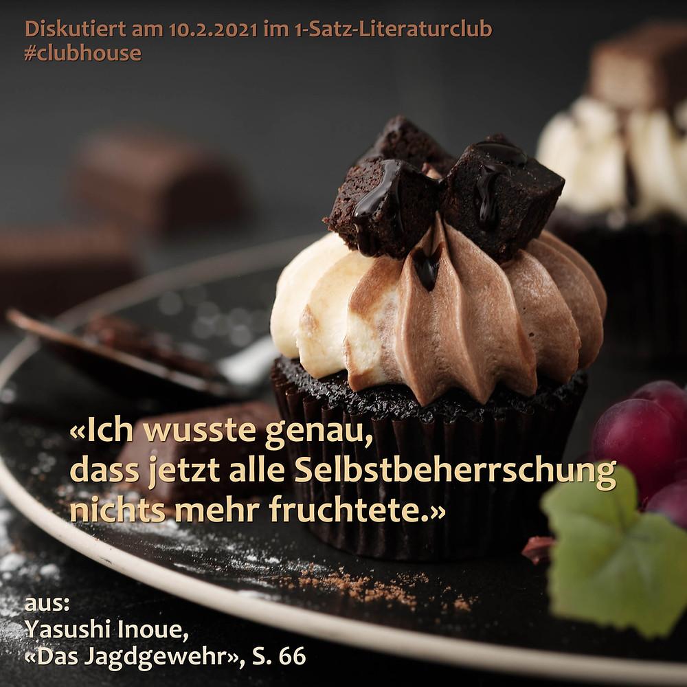 1-Satz-Literaturclub Lakritza Judith Niederberger Yasushi Inoue Das Jagdgewehr