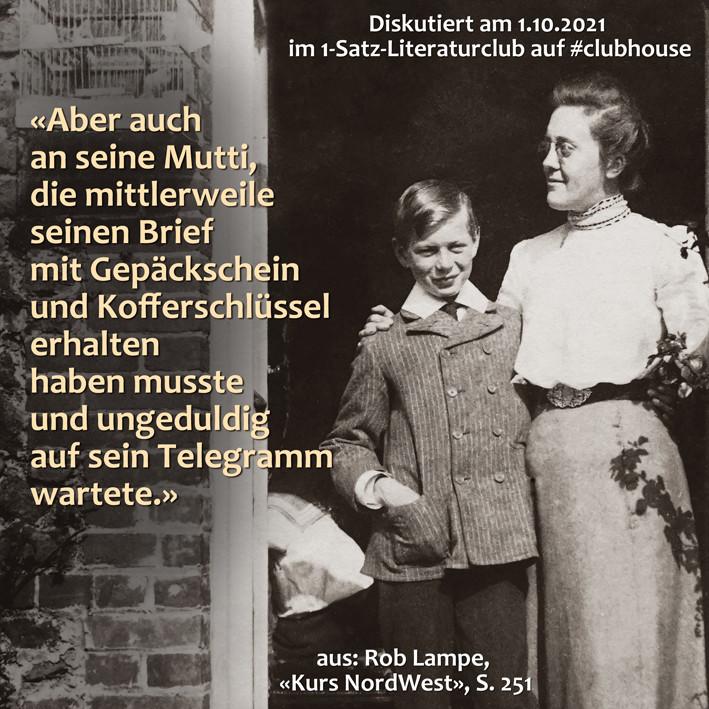 1-Satz-Literaturclub 1SLC Lakritza Judith Niederberger Rob Lampe Kurs NordWest