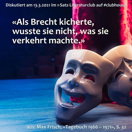 """""""Als Brecht kicherte, wusste sie nicht, was sie verkehrt machte."""""""
