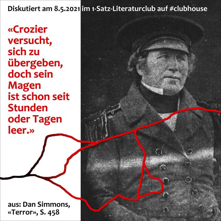 1-Satz-Literaturclub Lakritza Judith Niederberger Dan Simmons Terror
