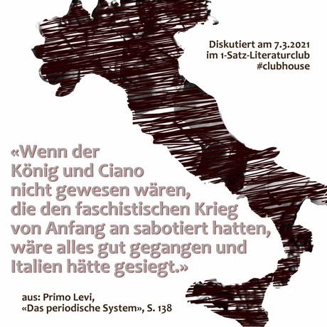 """""""Wenn der König und Ciano nicht gewesen wären, die den faschistischen Krieg von Anfang an ..."""