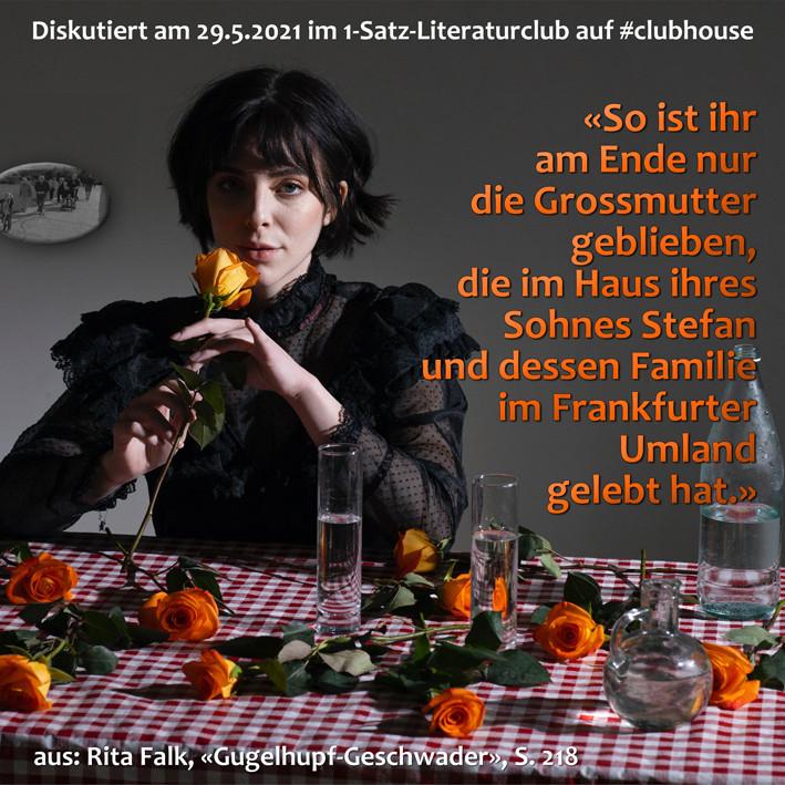 1-Satz-Literaturclub Lakritza Judith Niederberger Rita Falk Gugelhupfgeschwader