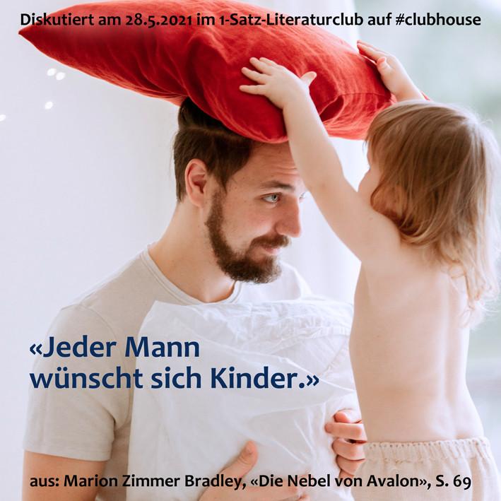 1-Satz-Literaturclub Lakritza Judith Niederberger Marion Zimmer Bradley Die Nebel von Avalon