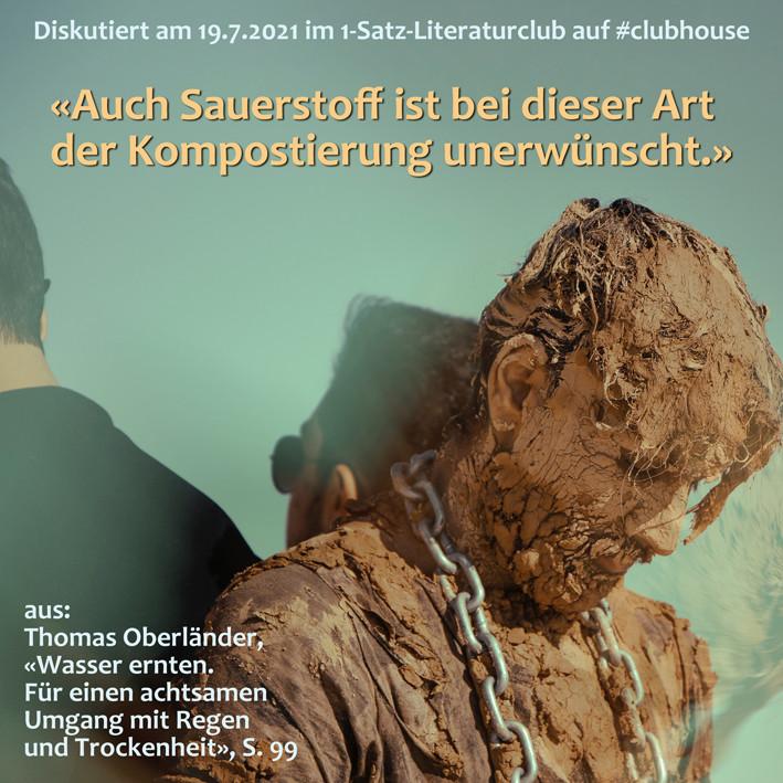 1-Satz-Literaturclub 1SLC Lakritza Judith Niederberger Thomas Oberländer Wasser ernten Für einen achtsamen Umgang mit Regen und Trockenheit