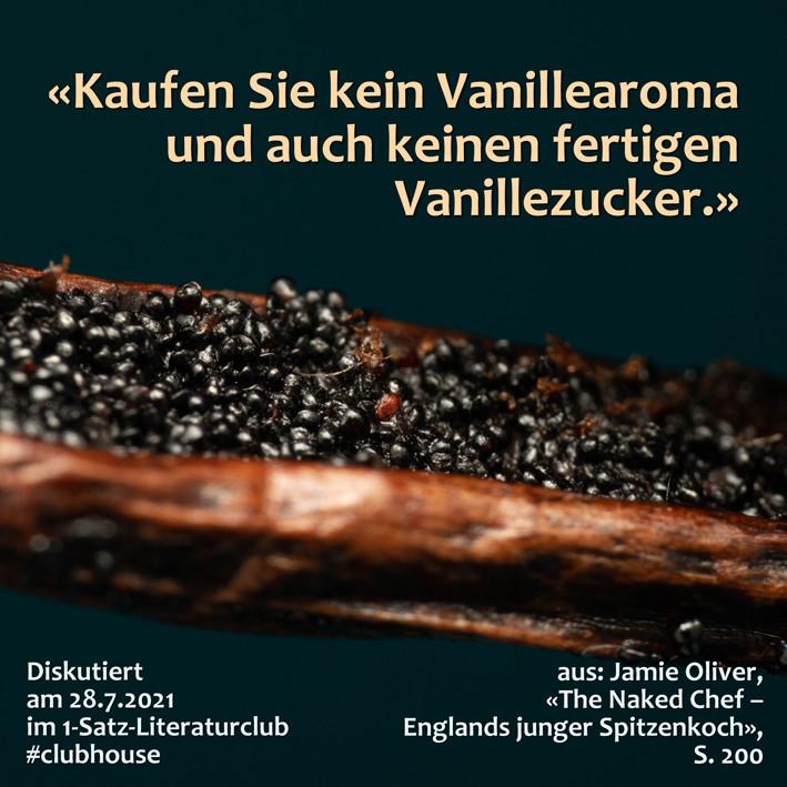1-Satz-Literaturclub 1SLC Lakritza Judith Niederberger Jamie Oliver The Naked Chef Englands junger Spitzenkoch