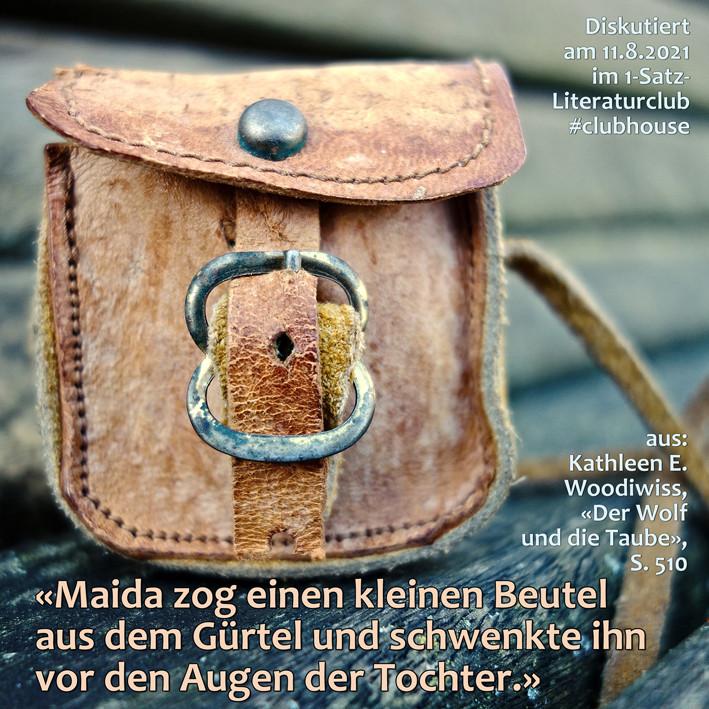 1-Satz-Literaturclub 1SLC Lakritza Judith Niederberger Kathleen E. Woodiwiss Der Wolf und die Taube