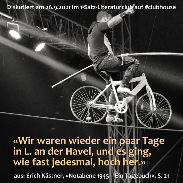 1-Satz-Literaturclub 1SLC Lakritza Judith Niederberger Erich Kästner Notabene 1945 Ein Tagebuch