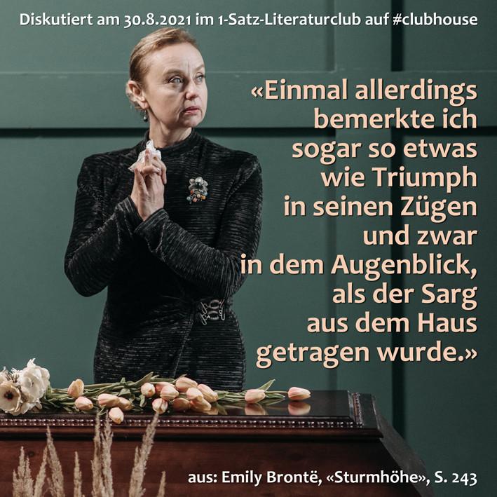 1-Satz-Literaturclub 1SLC Lakritza Judith Niederberger Emily Brontë Sturmhöhe