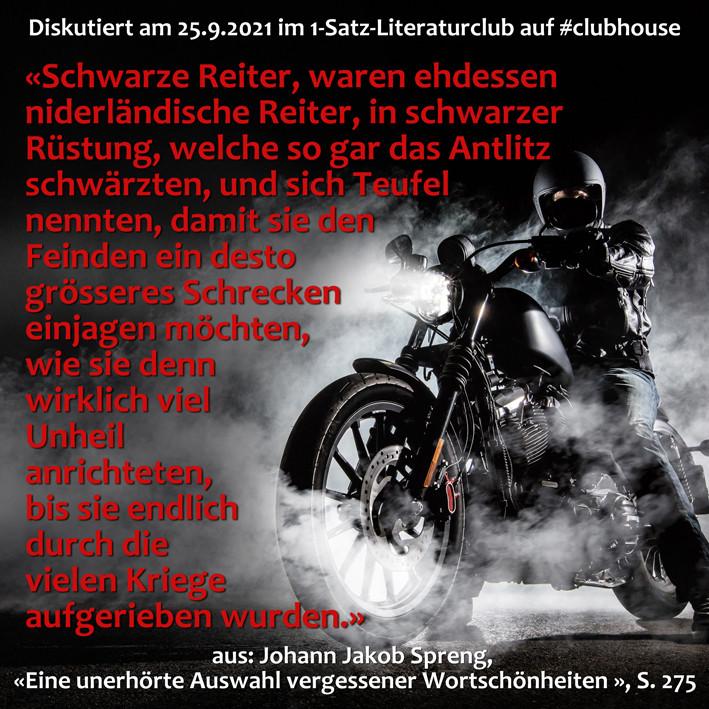 1-Satz-Literaturclub 1SLC Lakritza Judith Niederberger Johann Jakob Spreng Eine unerhörte Auswahl vergessener Wortschönheiten