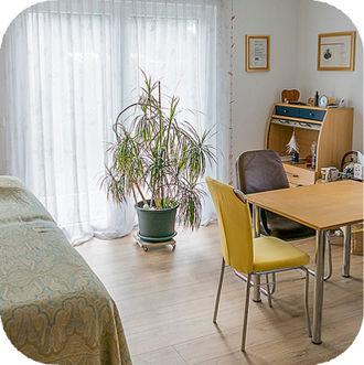 Gesundheitspraxis Angela Gehrig-Weuste - Praxiszimmer