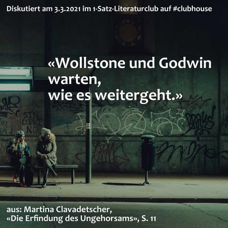 """""""Wollstone und Godwin warten, wie es weitergeht."""""""