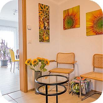 Gesundheitspraxis Angela Gehrig-Weuste - Wartezimmer