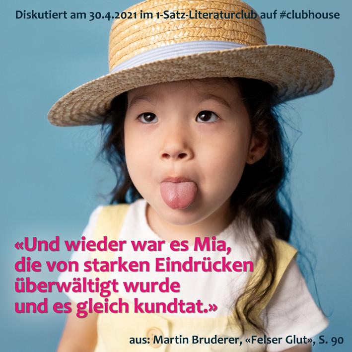1-Satz-Literaturclub Lakritza Judith Niederberger Martin Bruderer Felser Glut